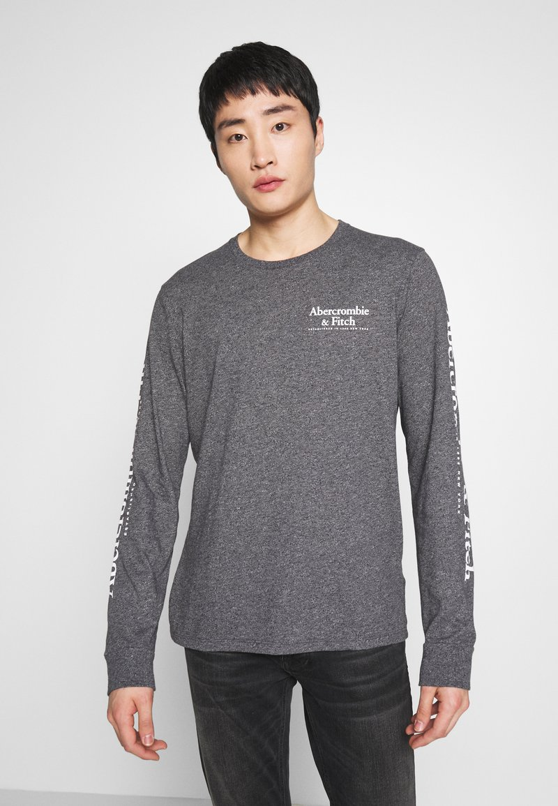 Abercrombie & Fitch - Long sleeved top - black