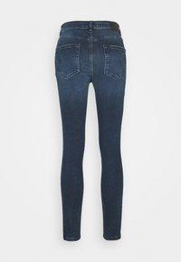Pieces - PCDELLY - Jeans Skinny Fit - dark blue denim - 1