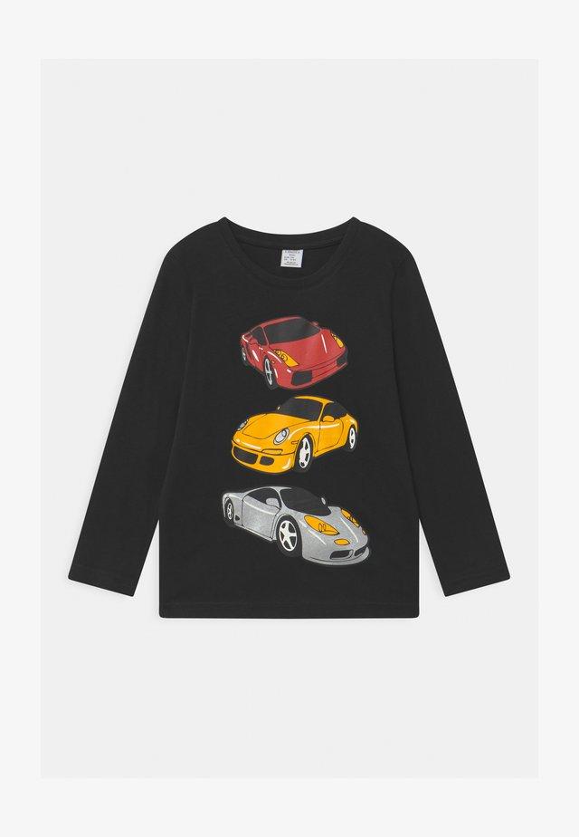 RACER CARS - Longsleeve - off black