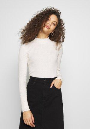 MOCKNECK SWEATR - Sweter - off white