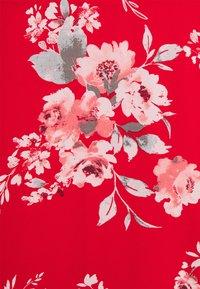 VILA PETITE - VITAGETES HALTERNECK ANKLE DRESS PETITE - Maxi dress - mars red - 2