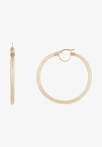 Earrings - jaune or