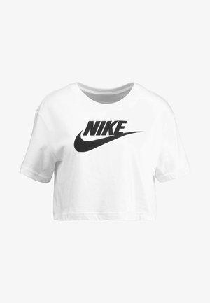TEE - Print T-shirt - white/black
