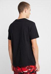 Nike Sportswear - TEE ICON FUTURA - Triko spotiskem - black/white - 2