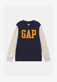 GAP - BOYS LOGO CREW - Sweater - navy uniform - 0