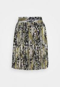 Vila - VIJEMO SKIRT - A-line skirt - birch/kallia - 3
