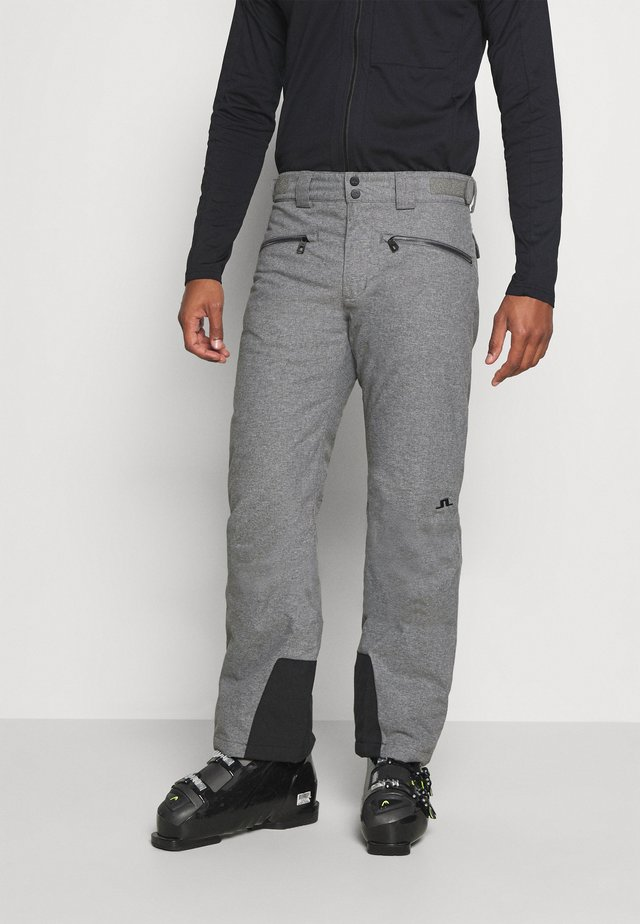TRUULI SKI PANT - Pantalon de ski - grey melange