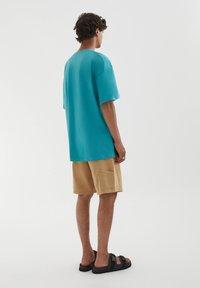 PULL&BEAR - Print T-shirt - evergreen - 2