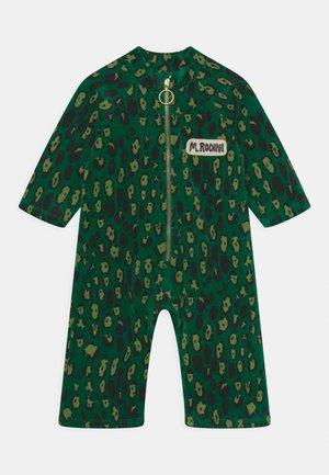 LEOPARD ONESIE UNISEX - Jumpsuit - green