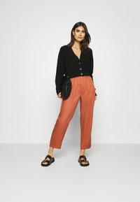 Marc O'Polo DENIM - PAPERBAG - Trousers - cinnamon brown - 1