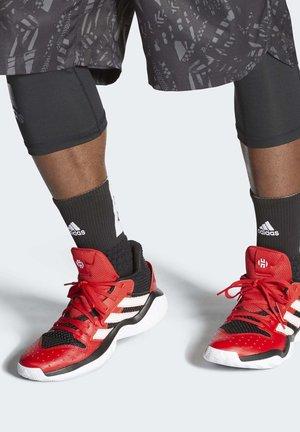 HARDEN STEPBACK SHOES - Basketball shoes - black