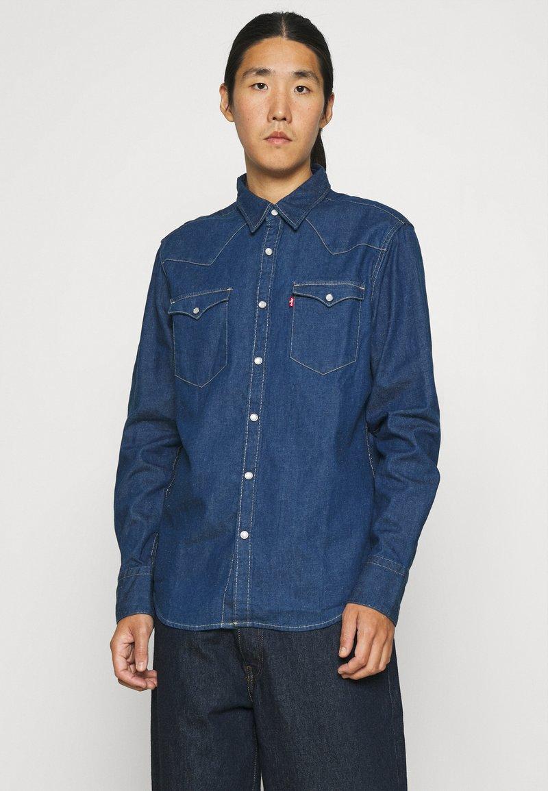 Levi's® - BARSTOW WESTERN STANDARD - Shirt - lowdip denim rinse