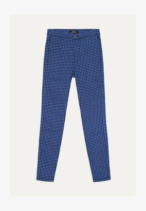 JEGGINGS MIT HOHEM BUND  - Jeggings - light blue