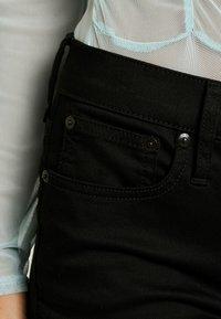 J.CREW PETITE - LOOKOUT HIGH RISE NEW - Jeans Skinny Fit - true black - 3