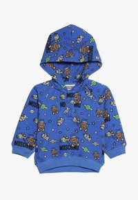 MOSCHINO - HOODED - Kapuzenpullover - bluette toy space - 3