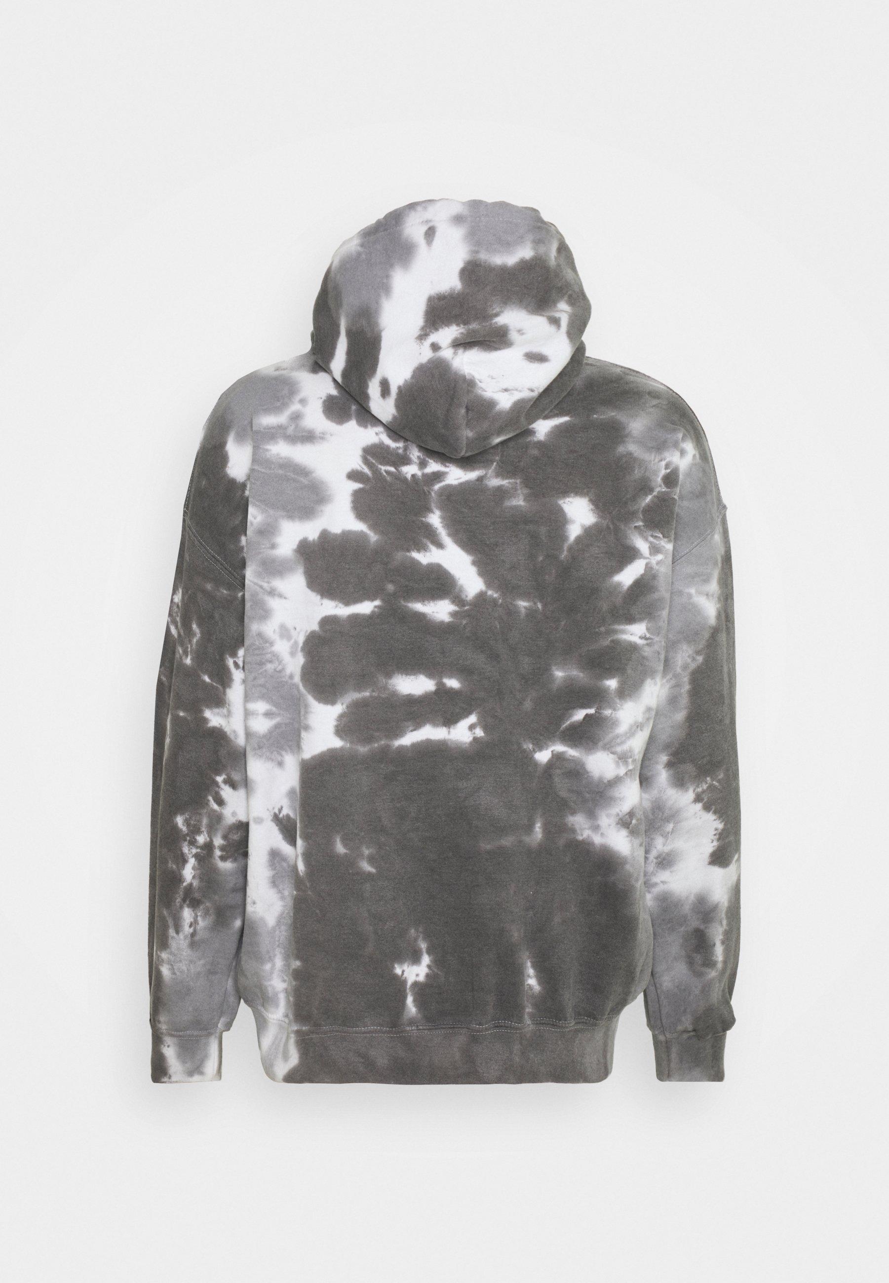 Men DAISY CHEST PRINT HOODIE - Sweatshirt