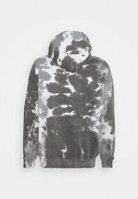Vintage Supply - DAISY CHEST PRINT HOODIE - Sweatshirt - grey - 1