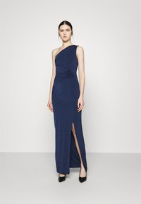 WAL G. - JULIANNA RUCHED DRESS - Iltapuku - navy blue - 0