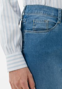 BRAX - STYLE MARY - Slim fit jeans - used light blue - 3
