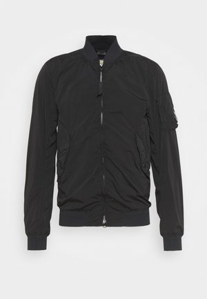OUTERWEAR SHORT JACKET - Summer jacket - black
