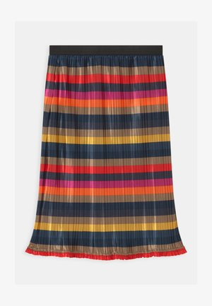 NKFODSANA - Pleated skirt - tannin