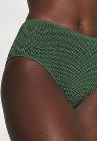 Seafolly - SEA DIVE WIDE SIDE RETRO - Bikini bottoms - ivy - 3