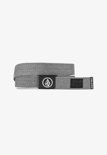 CIRCLE WEB BELT - Belt - heather_grey