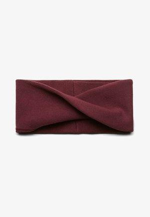 Ear warmers - ruby red