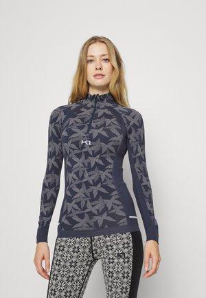 BUTTERFLY - Sports shirt - marin