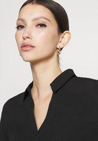 Vero Moda - VMBOA SHORT DRESS - Shirt dress - black - 3