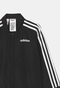 adidas Performance - SET UNISEX - Tracksuit - black/white - 3