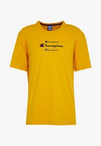 Champion - ROCHESTER WORKWEAR CREWNECK  - T-shirt imprimé - mustard yellow - 3