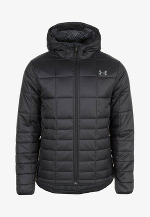 INSULATED HOODED - Winterjas - black