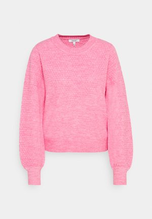 MARTINE STRUCTURE JUMPER - Strickpullover - chateau rose