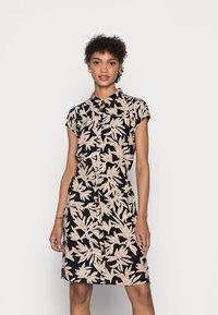 comma - Shirt dress - black/beige - 0