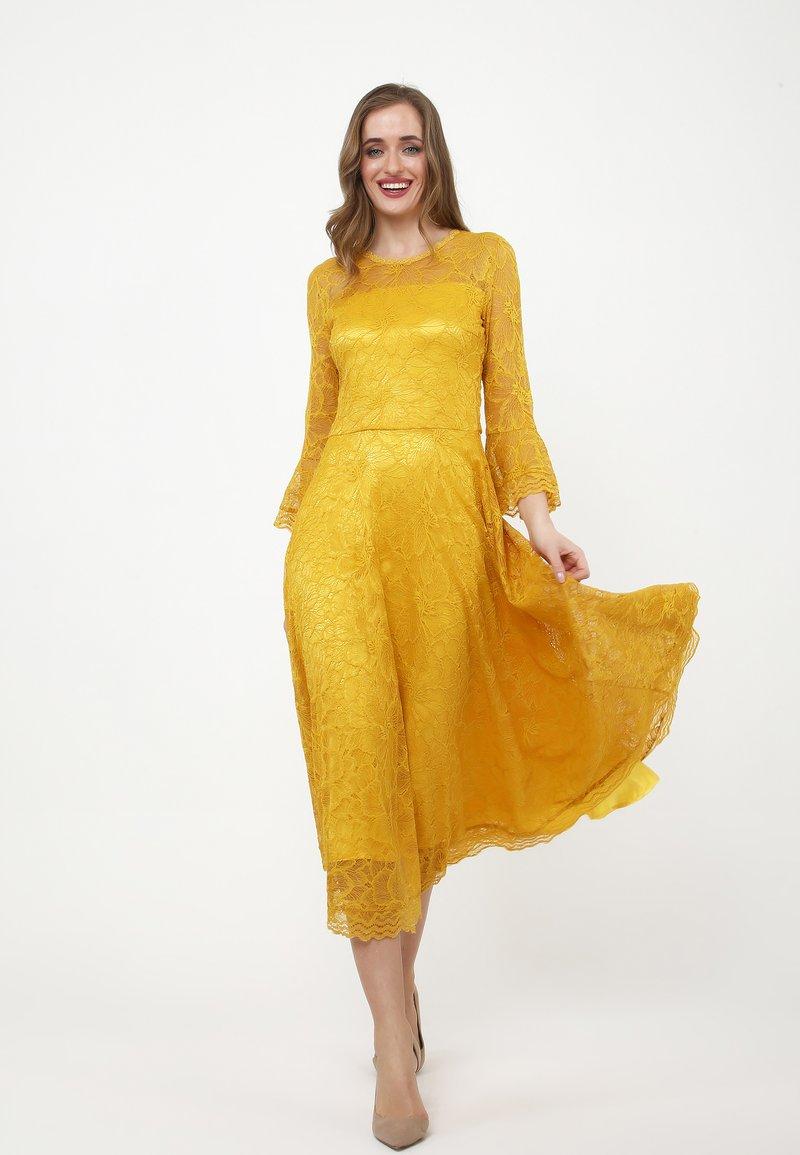 Madam-T - Cocktail dress / Party dress - gelb