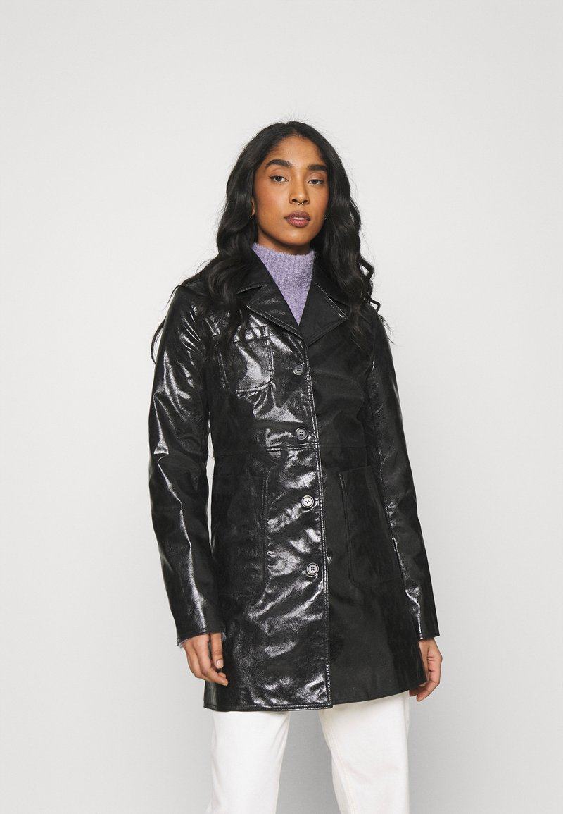 Weekday - HANNA - Short coat - black