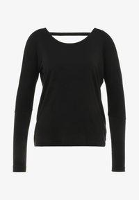 Onzie - DRAPEY V BACK - Camiseta de manga larga - black - 4