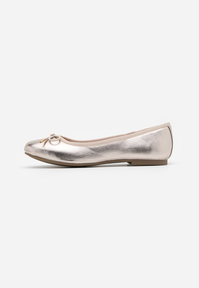 Ballerines - light gold