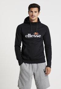 Ellesse - BARRETI - Jersey con capucha - black - 0