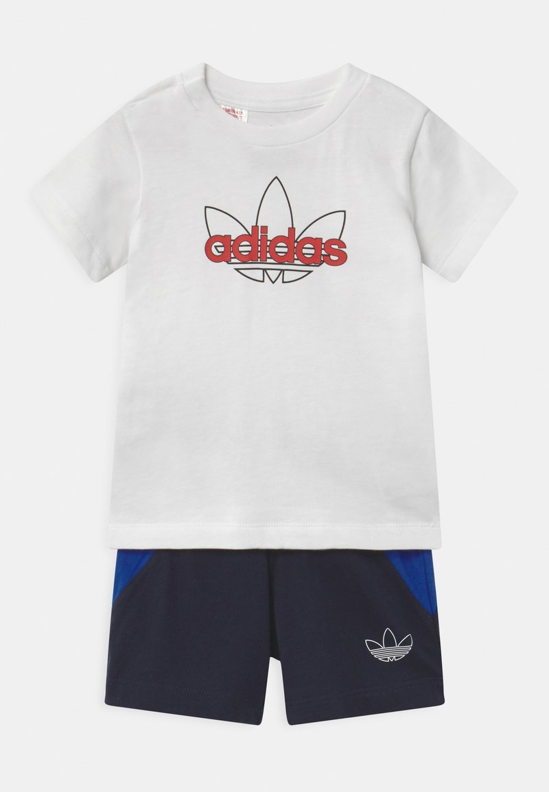 adidas Originals - SET UNISEX - Shorts - white/black