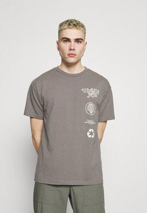 TROOPER TEE - T-shirt imprimé - mineral