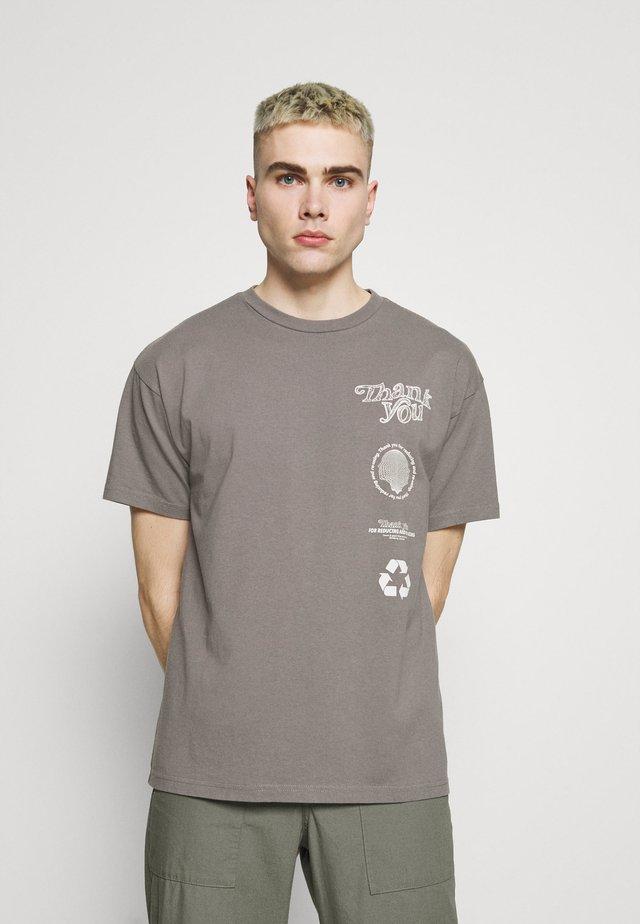 TROOPER TEE - T-shirt med print - mineral