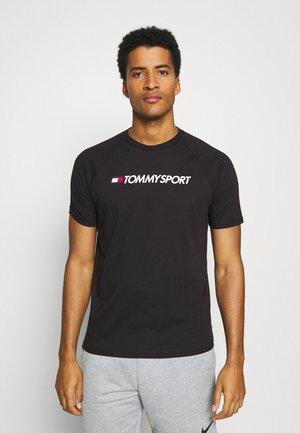 LOGO TEE - Print T-shirt - black
