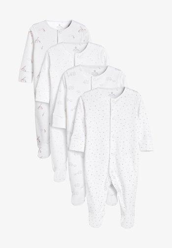 4 PACK  - Pyjamas - white