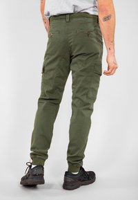 Alpha Industries - ALPHA INDUSTRIES SPARK - Cargo trousers - dark olive - 2