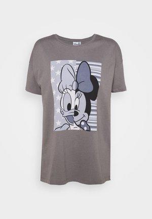 ONLDISNE LIFE SPLIT - Print T-shirt - steel gray
