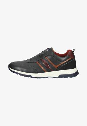 Sneakers laag - navy cocgnac