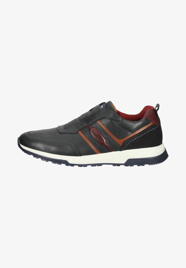 Sneakersy niskie - navy cocgnac
