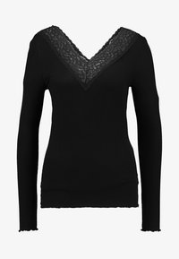Pieces - PCSIRI - T-shirt à manches longues - black - 4